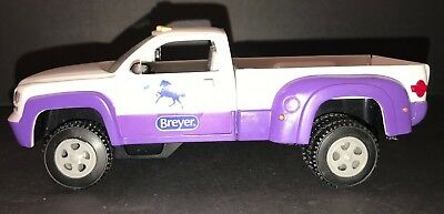Breyer Stablemates #5369 Horse Crazy Purple Dually Truck Replacement, NO Trailer