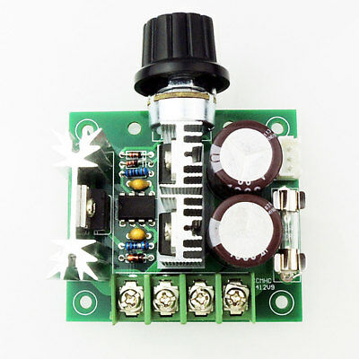 UK PWM DC Motor Speed Control Switch Controller Volt Regulator 12V~40V 10A