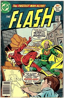 The Flash #249 (May 1977, DC) Rich Buckler & Jack Abel cover  GD/VG (3.0)
