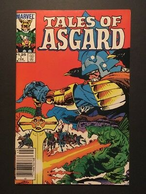 Tales of Asgard #1 (Feb 1984, Marvel) 1st ISSUE IN SERIES * THOR COPPER CLASSIC