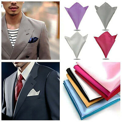 Lot of 26 Wedding Party Suit Pocket Hanky Square Silk Handkerchief PGS For Male