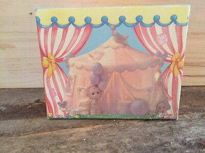 "Precious Moments ""Sammy's Circus"" Tent night light"