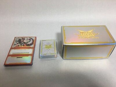 Yugioh Japanese Official Card Deck case & Storage & Sleeve DBLE Set From Japan