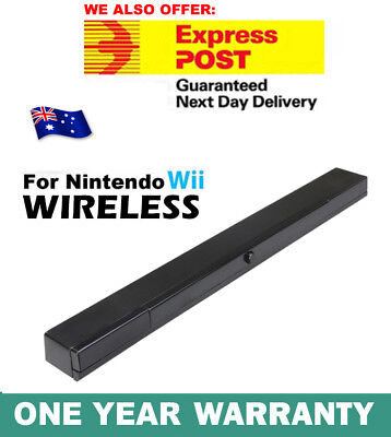 Infrared Ray Wireless Sensor Bar for Nintendo Wii / Wii U / Wii Mini Console