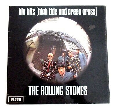 THE ROLLING STONES - big hits (high tide and green grass) - UK 1972-74 RE. LP