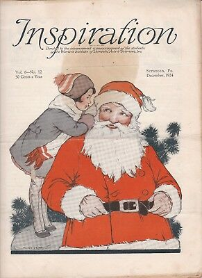 December 1924 Inspiration Magazine Woman's Institute Fashion Vintage Christmas