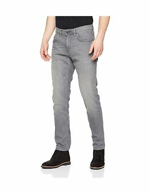 TOM TAILOR DENIM Men s Culver Black Washed Skinny Jeans 30W   32L ... a9bcbb41c7