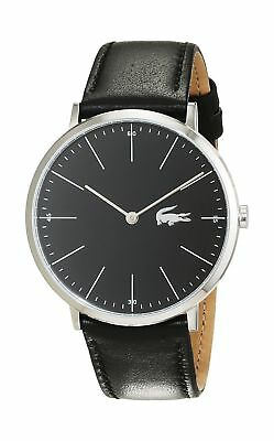Lacoste Mens Moon Watch Black