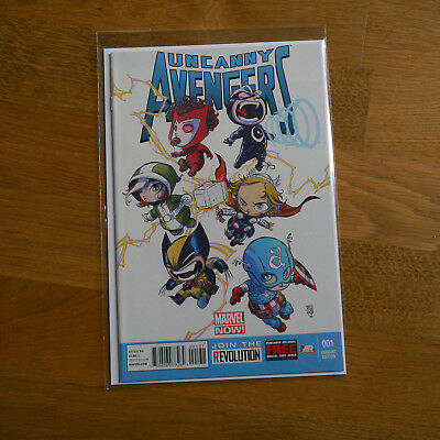 Uncanny Avengers (2012) issue #1 - Skottie Young variant - Marvel Comics.