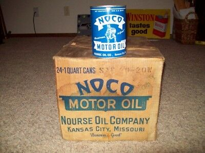 Noco Motor Oil Can With Box