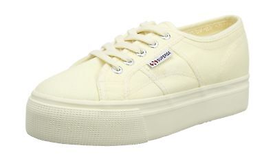 Superga 2790 Acotw Linea Up and Baskets Basses Femme Beige