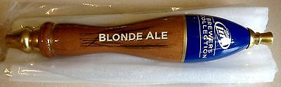 Vintage Miller Lite Beer Brewers Collection Blonde Ale Tap Handle New Old Stock