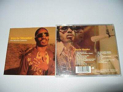 Stevie Wonder The Definitive Collection 21 Tracks 2002 Ex Condition