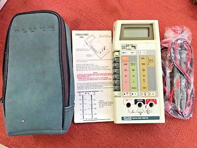Fluke 8024A Multimeter With Accessories (Mint condition)