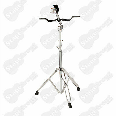 Bongo Stand Heavy Duty Double Braced. Rubber Padded Support Arm. Memory Lock