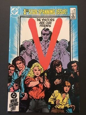 V The Final Battle #1 (Feb 1985, DC) 1st ISSUE IN SERIES * CULT CLASSIC TV MOVIE