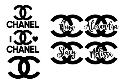 CHANEL LOGO Vinyl Decal ~Window Car / Van Decal Sticker craft Gift, personalised