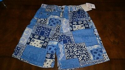 Vintage Womens High Waisted Denim Shorts Size 7 Arizona Patchwork with Tags