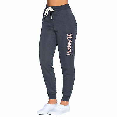 Hurley One & Only Track Pants in Black, Grey, White