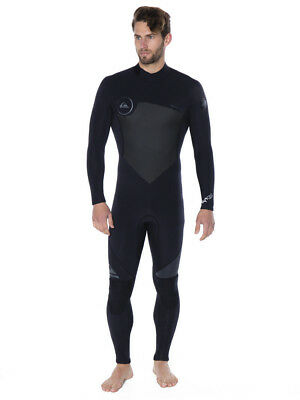 Quiksilver Syncro Series Wetsuit in Black, Blue