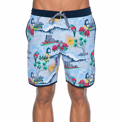 "City Beach Billabong Gold Coast Lo Tide 18"" Short"
