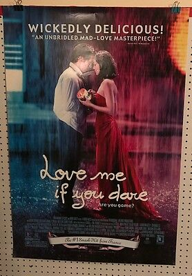 Original Movie Poster Love Me If You Dare Double Sided 27x40