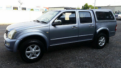 Holden Rodeo Dual Cab Dual Fuel