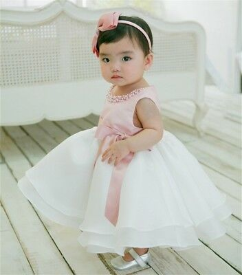 Newborn Baby Toddler dresses for Christening Birthday Wedding special events