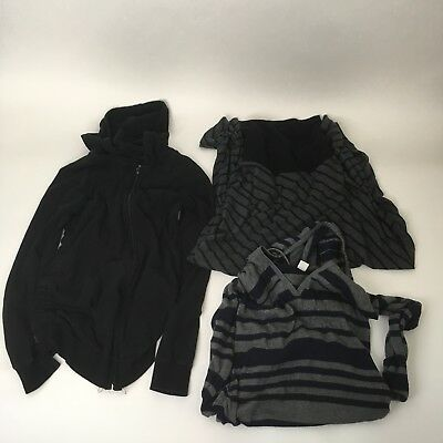 MSRP $80 Lot Of 3 Motherhood Maternity Size S Maxi Skirt/Zip Up Hoodie/Pullover
