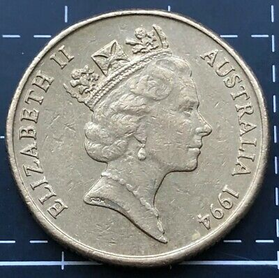 1994 Australian $1 One Dollar Coin - Mob Of Roos