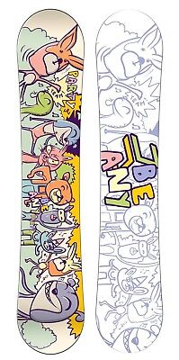 (90.0, multicolor) - Beany Children's Party Snowboard. Shipping is Free