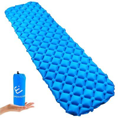 Sleeping Pad Light Weight Inflatable Waterproof Mat, Camping travelling Mattress