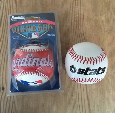 Franklin Baseball Collector Series Soft Strike Hollow Core / Baseball stats neu