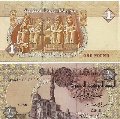 2007 Egypt One Pound Uncirculated Egyptian Note