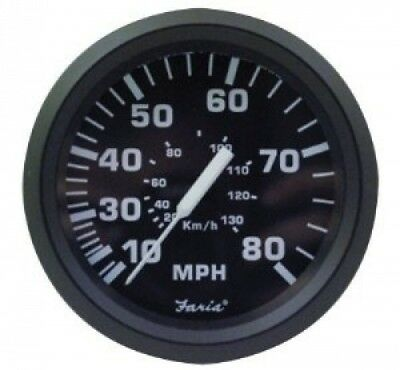 Faria 32812 Euro 80 MPH Speedometer. Delivery is Free