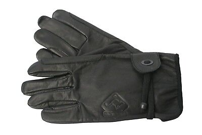 (Black, XL (9,5)) - Scippis Gloves Various Sizes. Free Delivery