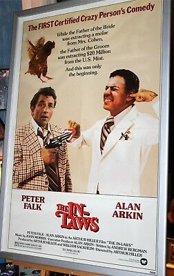 The In Laws Movie Poster One Sheet Alan Arkin Peter Falk