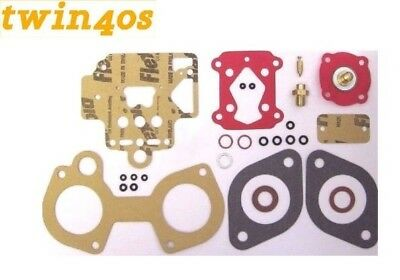 1 x Dellorto DHLA 40 Carburettor Service Overhaul Gasket kit Lotus Alfa