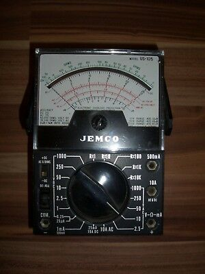 Analoges Multimeter von JEMCO Model US-105 Vielfach-Messgerät Meßgerät