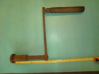 Large Clock Winder Winding Handle Antique Church Tower  4