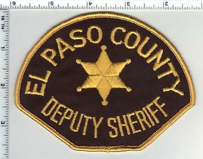 El Paso County Sheriff (Colorado) Deputy Shoulder Patch from the 1980's