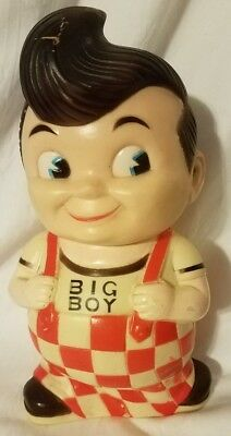 Vintage Bob's Big Boy Korean Rubber Piggy Bank Rare Collector's Piece