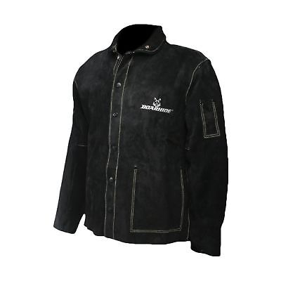 "Caiman Black Boarhide - 30""Jacket, Welding-Apparel 2X-Large"
