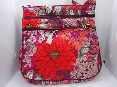 328bde93c0fe VERA BRADLEY KEEP CHARGED Triple Zip Hipster BOHEMIAN BLOOMS RV 98 ...
