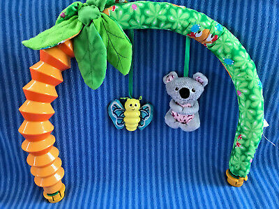 Evenflo Triple Fun Jungle Exersaucer Toy Arch Replacement Part