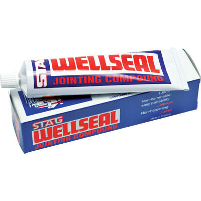 Hermetite Stag Wellseal Jointing Compound 100ml Tube, New Stock