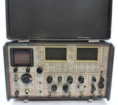 Motorola R-2410A Communication System Analyzer Service Monitor