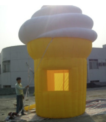 Inflatable Ice Cream Booth