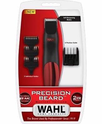 Wahl Precision Beard Battery Trimmer Clipper Hair Barber Tool Head Shaver Beard