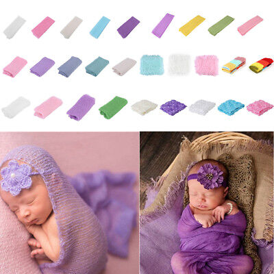7types Newborn Baby Boy Girl Wrap Costume Photo Photography Props Blanket Outfit